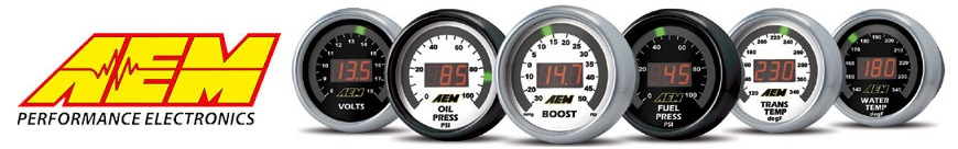 AEM X-Series Gauges