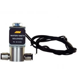 AEM Water/Methanol WMI Solenoid, Eliminates Flow Into Inlet, When Not Engaged (30-3326)