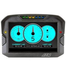 AEM CD-7 Carbon Digital Racing Dash Displays, Non-Logging with Internal GPS, (30-5702)