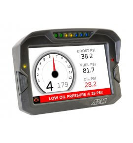 AEM CD-7 Carbon Digital Racing Dash Displays, Logging with Internal GPS, (30-5703)