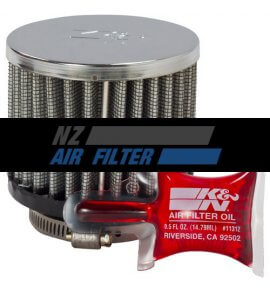 "K&N Crank Case Filter, 38mm, 1.5"" (62-1460)"