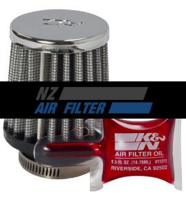 "K&N Universal Chrome Filter, 29mm, 1.125"" (RC-2540)"