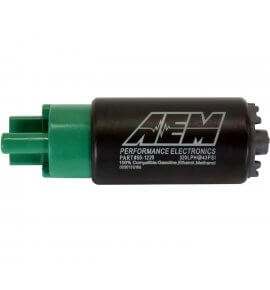AEM, E85 Compatible Fuel Pump, 65mm Long, 320+ LPH (50-1220)