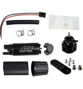 AEM Fuel Regulator & Fuel Pump Combo (320LPH) 700HP