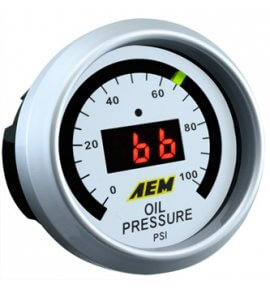 AEM Digital Oil/Fuel Pressure Gauge. 0~100psi (30-4401)