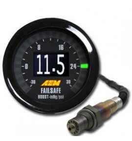 AEM Wide Band & Boost Gauge, Fail Safe Gauge (30-4900)