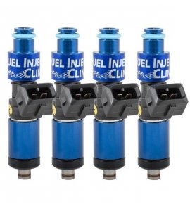 Fuel Injector Clinic, (High-Z) FIC 1200cc Injectors, Set of 4, 14mm