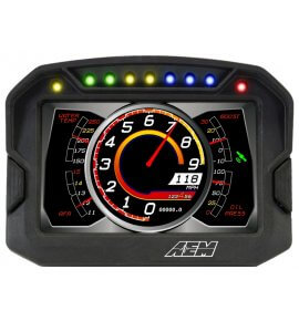 AEM CD-5 Carbon Digital Racing Dash Displays, With Logging Display, (30-5601)