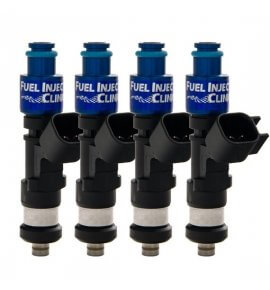 Fuel Injector Clinic, (High-Z) FIC 1000cc Injectors, Set of 4, 14mm (EVO 4-9)