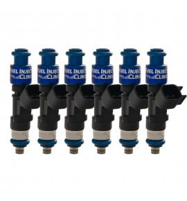 Fuel Injector Clinic, (High-Z) FIC 1000cc Injectors, Set of 6, 14mm