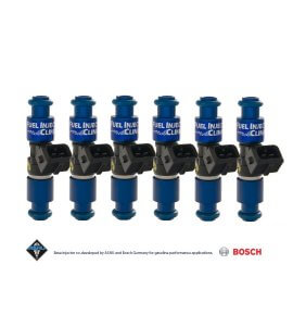 Fuel Injector Clinic, (High-Z) FIC 1650cc Injectors, Set of 6, 14mm