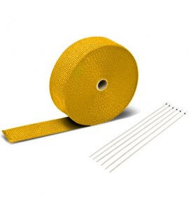 Exhaust Heat Wrap (Yellow)