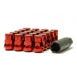 Muteki SR35 Closed End Lug Nuts, Red, M12x1.25P, (SR35-32925RP)