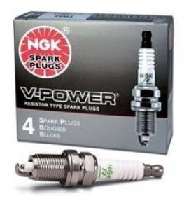 NGK V-Power Spark Plugs, R5671A-8, # 4554, (Drag, Drift & Street Plug)