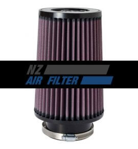 "K&N Universal Air Filter - 3.25"" inlet x 8"" long ,  83mm (RU-5122)"
