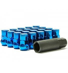 Muteki SR35 Closed End Lug Nuts, Blue, M12x1.25P, (SR35-32925UP)