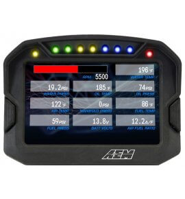 AEM CD-5 Carbon Digital Racing Dash Displays, With Logging with Internal GPS, (30-5603)