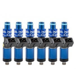 Fuel Injector Clinic, (High-Z) FIC 1200cc Injectors, Set of 6, 11mm