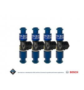 Fuel Injector Clinic, (High-Z) FIC 1650cc Injectors, Set of 4, 14mm