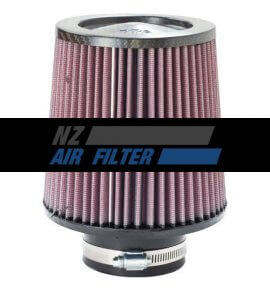 "K&N Carbon Fibre Air Filter - 3"" inlet x 6"" long , 76mm (RF-1047)"