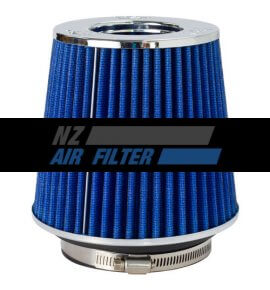 "K&N Adjustable, Blue Pod Filter - Fits 3"" Inlet, 3.5"" Inlet & 4"" Inlet x 5.5"" long (RG-1001BL)"