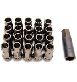Muteki SR48 Long Open End Lug Nuts, Titanium, M12x1.25P, (SR48-32905T)