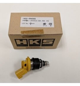 HKS 555cc Fuel Injector 1402-RN008, Suit SR20, RB25, VG30, 300ZX Engine