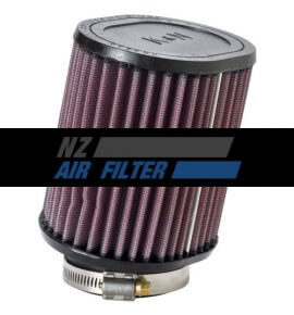 "K&N Universal Air Filter - 62mm inlet x 5"" long, 10 Degree Angle (RU-1220)"