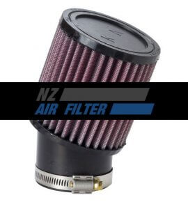 "K&N Universal Air Filter - 62mm inlet x 4"" long , 20 Degree Angle (RU-1750)"