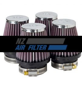 "K&N Universal Air Filter - .8"" inlet x 3"" long (4 x filters included) , 46mm (RC-2324)"