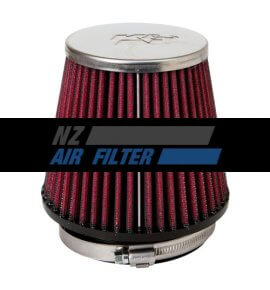 "K&N Universal Air Filter - 3.156"" inlet x 4.3"" long , 80mm (RC-9160)"