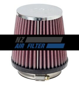 "K&N Universal Air Filter - 3"" Inlet x 4.3"" long , 76mm (RC-9410)"