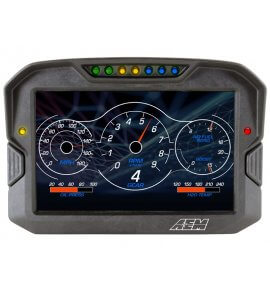 AEM CD-7 Carbon Digital Racing Dash Displays, Non-Logging/Non-GPS, (30-5700)