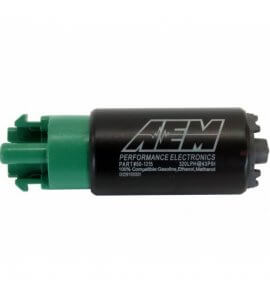 AEM, E85 Compatible Fuel Pump, 65mm Long, 320+ LPH (50-1215)