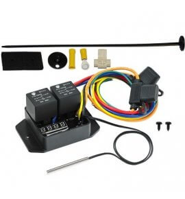 Davies Craig Digital Thermatic Fan Switch Kit,12V / 24V, (0444)