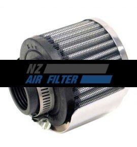 "K&N Crank Case Filter, 32mm, 1.25"" (62-1512) With Heat Shield"