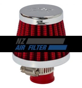 "K&N Red Crank Case Filter, 10mm, 0.375"" (62-1600RD)"