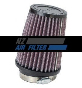 "K&N Universal Air Filter - 2.75"" inlet x 5"" long, 70mm , 10 degree flange  (SN-2590)"