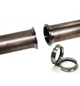 "3"" V-Band, (3pc set) Stainless Steel, High Quality (Machined in NZ)"