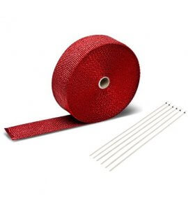 Exhaust Heat Wrap (Red)