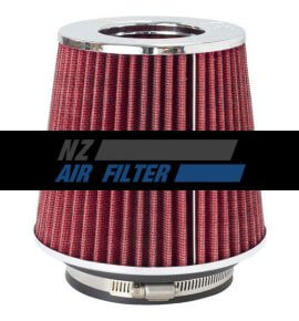 "K&N Adjustable, Red Pod Filter -  Fits 3"" Inlet, 3.5"" Inlet & 4"" Inlet x 5.5"" long (RG-1001RD)"