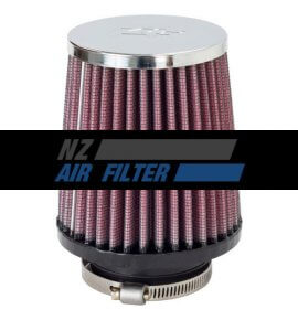 "K&N Universal Chrome Air Filter - 2"" Inlet, Air Filter (RA-050V)"