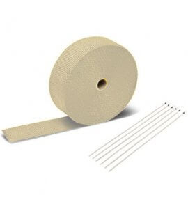 Exhaust Heat Wrap (White)