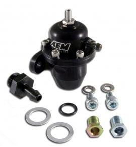 AEM Adjustable Fuel Pressure Regulator – EG/EK/DC (25-300BK)