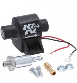K&N Low Pressure Fuel Pump, Flows 121LPH, 4 & 7psi (81-0402)