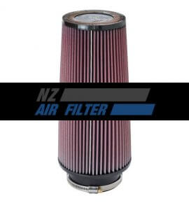 "K&N Universal Air Filter - 4"" inlet x 12"" long , 102mm (RE-0860)"