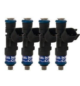 Fuel Injector Clinic, (High-Z) FIC 1000cc Injectors, Set of 4, 14mm (EVO 10)