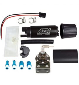 Tomei Fuel Regulator & AEM Fuel Pump Combo