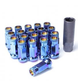 Muteki SR48 Long Open End Lug Nuts, Burnt Blue, M12x1.25P, (SR48-32905UN)