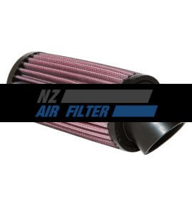 "K&N Universal Air Filter - 1.6"" inlet x 6"" long ,  43mm , 40 degree flange (R-1030)"